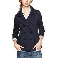 Terry pea coat | Gap