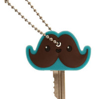 Mr. Mustachio Key Cap | Mod Retro Vintage Decor Accessories | ModCloth.com