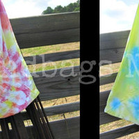 Hand Tie-Dyed Pillowcase Bag/Purse/Tote