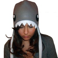 Design your own shark hat you pick colors by aprikotDIY on Etsy