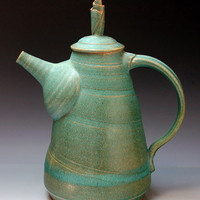Teapot 29 by Ron Mello: Ceramic Teapot - Artful Home