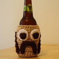 Mustache Coozie by jacesmam on Etsy