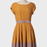 gillian dress in mustard by Dear Creatures at ShopRuche.com