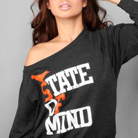 The State of Mind Wide-Neck Pullover