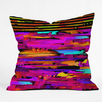 DENY Designs Home Accessories | Holly Sharpe Colorful Chaos 2 Throw Pillow