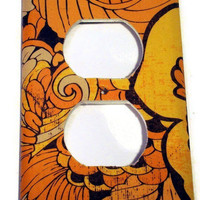 Light Switch Cover Switchplate Wall Decor in  Buttercup (114O)
