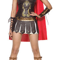 Ancient, Roman & Greek Costumes: Warrior Princess Costume @ OdGirl.com - Sexy Lingerie, Sexy Clothing, Valentine?s High Heel Shoes, Dancewear, Clubwear, Gothic Apparel, Minidress, Bridal Lingeries, Short Skirt, Bikini, Swimwear, PVC Leather and Gowns