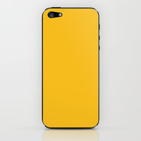 Autumn Yellow iPhone & iPod Skin by Color Project | Society6