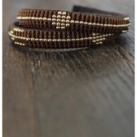 Love Heals - Double Wrap Cuff