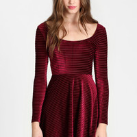 Kerrigan Velvet Dress By Shown to Scale - $92.00: ThreadSence, Women's Indie & Bohemian Clothing, Dresses, & Accessories