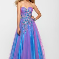 Clarisse 2160 Multi Color Prom Gown