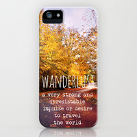 wanderlust iPhone Case by Sylvia Cook Photography | Society6