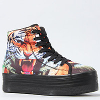The HOMG Sneaker in Tiger Print