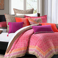 Echo Bedding, Mayan Geo Comforter Sets - Bedding Collections - Bed & Bath - Macy's