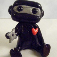 Ninja Robot by sleepyrobot13 on Etsy