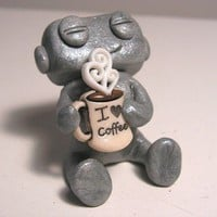 I love Coffee Robot by sleepyrobot13 on Etsy