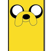 Personalized iPhone 4 case iPhone 4s case - Jake the Dog Adventure Time  Photo -plastic Iphone cover iphone 4s cover