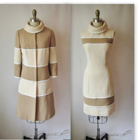 60&#x27;s Lilli Ann Dress Set // Vintage 1960&#x27;s Mod by TheVintageStudio