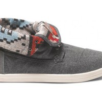 Highlands Grey Wool Men's Botas | TOMS.com