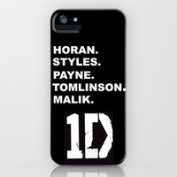 One Direction iPhone Case by Amy. | Society6