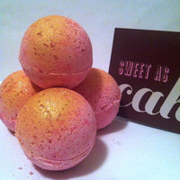 Bath bomb - Japanese blossom bath bomb-Natural bath bombs- Homemade bath bomb-bath fizzy