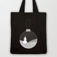 Snowball Tote Bag by Anita Ivancenko | Society6