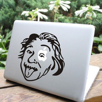 Einstein Mac Book Mac Book Air Mac Book Pro Mac Sticker Mac Decal Apple Decal Mac Decals