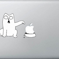 Cartoon DogMac Book Mac Book Air Mac Book Pro Mac Sticker Mac Decal Apple Decal Mac Decals