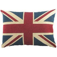 Evans Lichfield Union Jack Traditional Tapestry Cushion, 18 x 13 Inch, Polyester Fibre Filled: Amazon.co.uk: Kitchen & Home