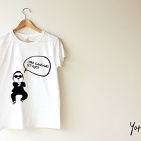 Unisex Tee - Gangnam Style (ON SALE NOW)