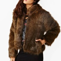 Party Boy Faux Fur Jacket