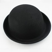 OASAP - Cute Domed Crown Bowler Hat - Street Fashion Store