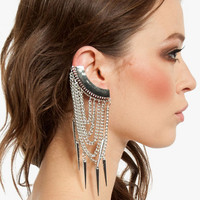 Mia Caged Ear Cuff $9
