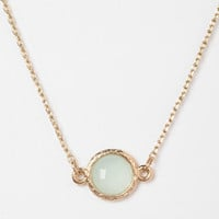 Delicate Stone Necklace