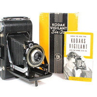 Antique Kodak Vigilant Six20 camera by BMTvintage on Etsy