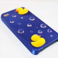 Fuzzy Duck & Bubbles Case