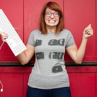 """Alt of Ctrl"" - Threadless.com - Best t-shirts in the world"