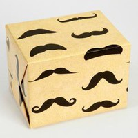 Mustache Gift Wrap