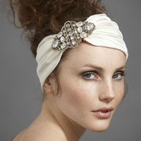 Style Moderne Headwrap in SHOP Attire Hair Adornments at BHLDN