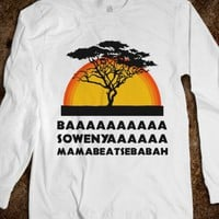 Lion King (long sleeve) - Fun, Funny, &amp; Popular