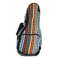 Amazon.com: Eddy Finn Gig Bag Series EF-HUB-C Ukulele, Red/Blue/White: Musical Instruments