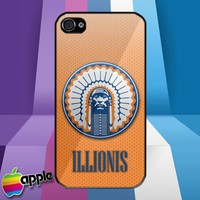 Illinois Fighting Illini Logo iPhone 4 or iPhone 4S Case