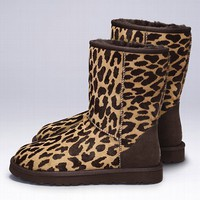 Classic Short Animal-print Boot