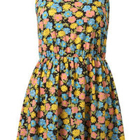 Pansy Fit And Flare Dress - Dresses - Clothing - Topshop USA