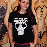 $19.95 Are you my Mummy  Women's fitted by evietees