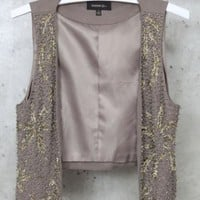 Mikkat Market- beaded vest