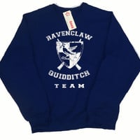 Ravenclaw Quidditch Team Pullover Sweater, In any color
