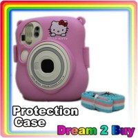 Fuji Instax Mini 25 Camera Pink Protection Case Bag | eBay