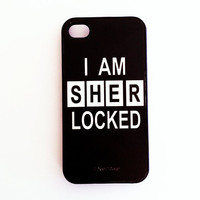 Sherlock iPhone 4-4s Case: I am Sherlocked