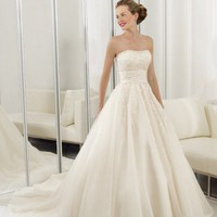 Cheap wedding dresses_wedding gowns Body Fitted Sheath Flower Wedding Dress Fabrics Chiffon Bateau Neckline Cheap wedding dresses_wedding gowns